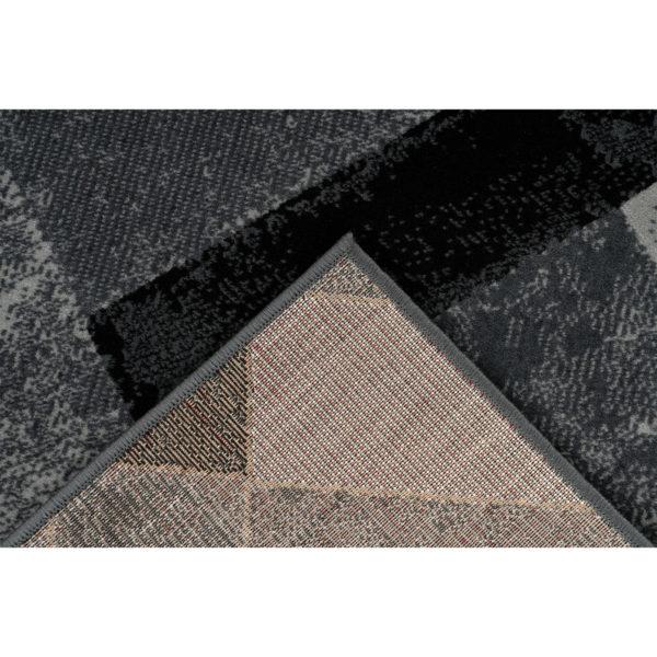 Grijs retro tapijt
