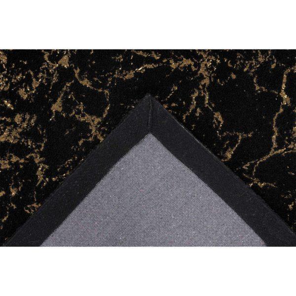 Luxe-zwart-vloerkleed-goud
