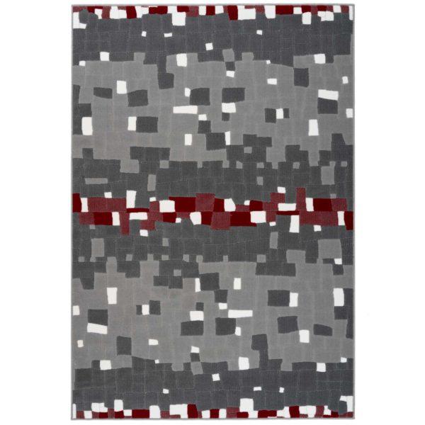 Retro-design-vloerkleed-grijs-rood