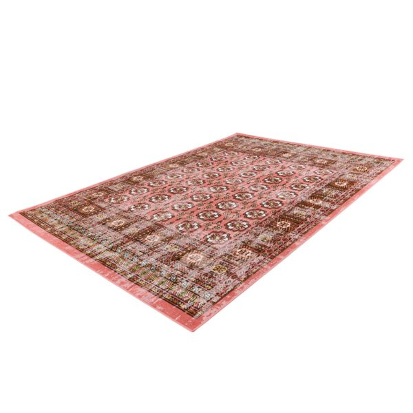 Rood vintage vloerkleed