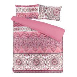 Roze dekbedovertrek Algera