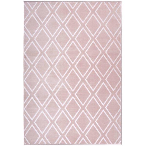 roze-geruit-vloerkleed
