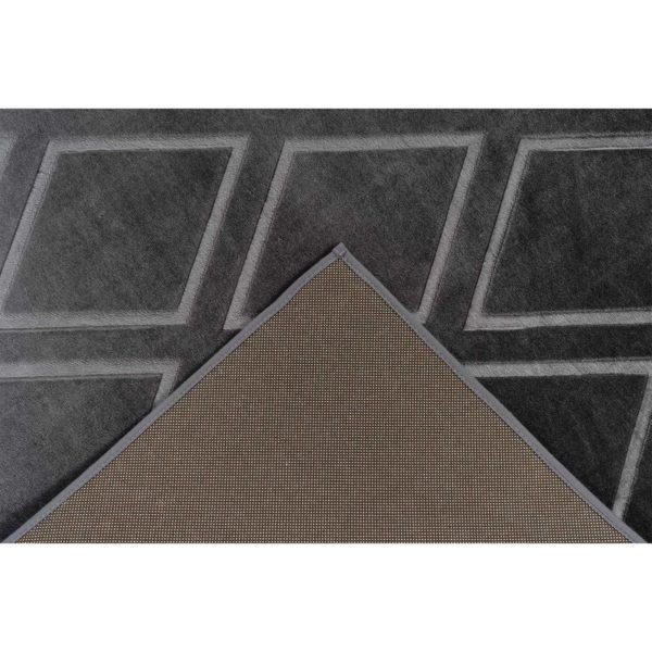 Zwart-geruit-vloerkleed