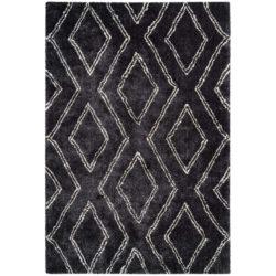 zwart ruit vloerkleed