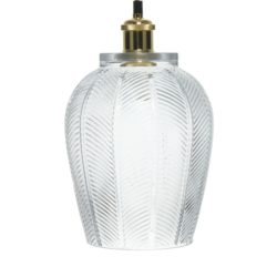 Luxe glazen hanglamp Bibi