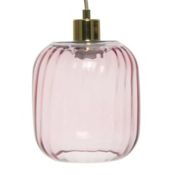 Roze hanglamp Clesia