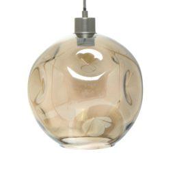 Glazen design hanglamp Nali