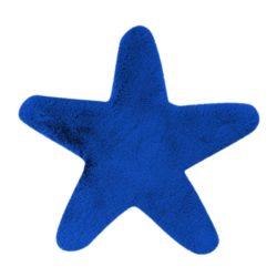 Blauw kindervloerkleed Ster