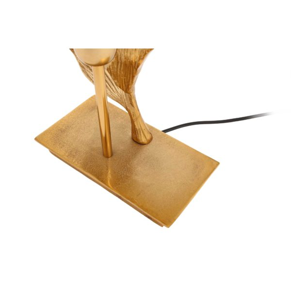Gouden design tafellamp Sculp