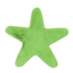 Groen kindervloerkleed Ster