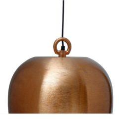 Art Deco koperen hanglamp Roy (XL)