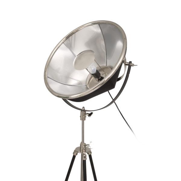 Zilveren vloerlamp Rowie