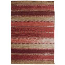 Laagpolig rood vloerkleed