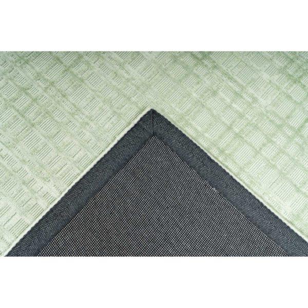 Mintgroen design vloerkleed