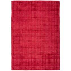 Rood design vloerkleed