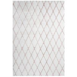 Wit modern tapijt