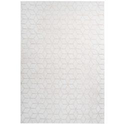 Wit modern tapijt beige