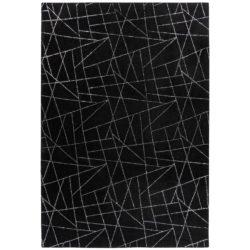 Zwart-vloerkleed-met-zilver