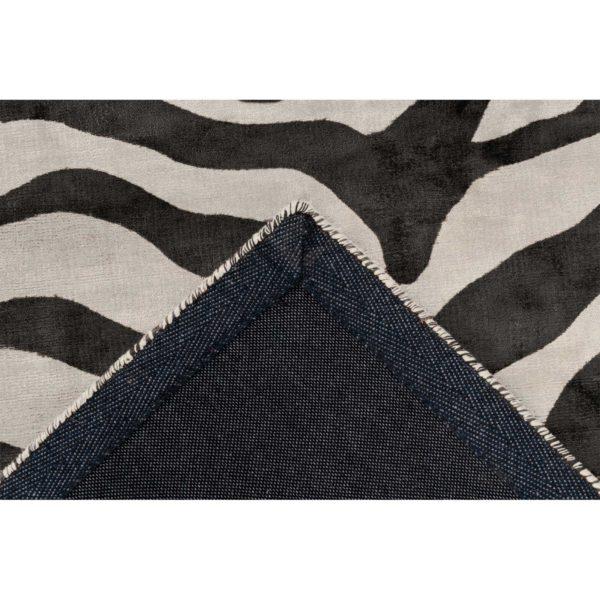 Zwart wit design vloerkleed
