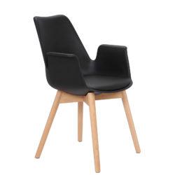 Zwarte-design-eetkamerstoelen