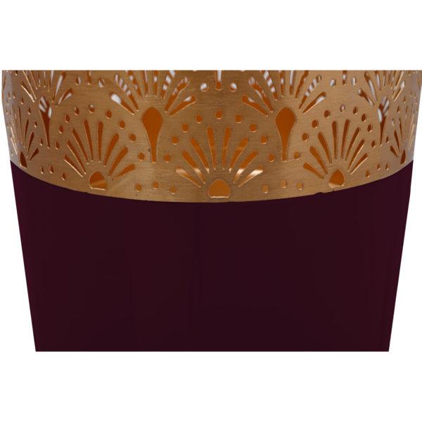 Paarse vloervaas Art Deco 121cm (H)