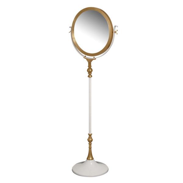 Witte staande spiegel Elegance
