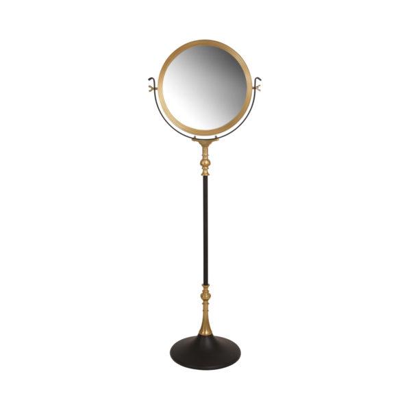Zwarte staande spiegel Elegance
