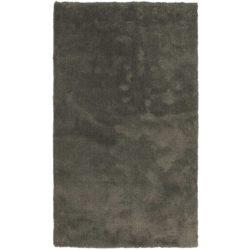 grijs hoogpolig vloerkleed
