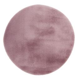 Roze rond vloerkleed DuMont