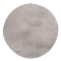 Zilver rond vloerkleed DuMont