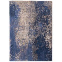 Blauw design vloerkleed Cracks - Louis De Poortere