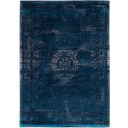 Donkerblauw-vintage-vloerkleed