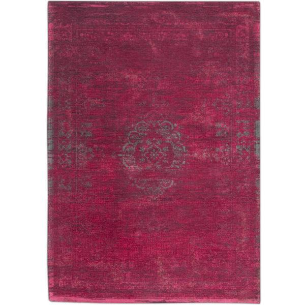 Donkerroze-vintage-vloerkleed