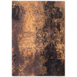 Goud design vloerkleed Cracks - Louis De Poortere