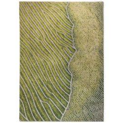 Groen design vloerkleed Waves - Louis De Poortere