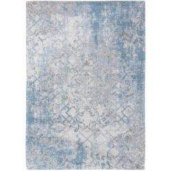Pastelblauw vintage vloerkleed Babylon - Louis De Poortere