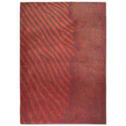 Rood design vloerkleed Waves - Louis De Poortere
