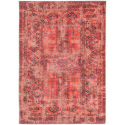 Rood vintage vloerkleed Antiquarian - Louis De Poortere