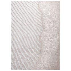 Wit design vloerkleed Waves - Louis De Poortere