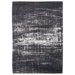 Zwart met wit vloerkleed Griff - Louis De Poortere