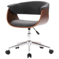 Design bureaustoel met hout en grijs Birou