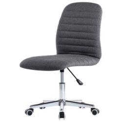 Donkergrijze bureaustoel met wieltjes Toimisto