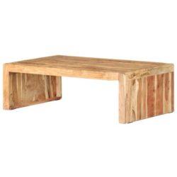 Houten rechthoekige salontafel Robert