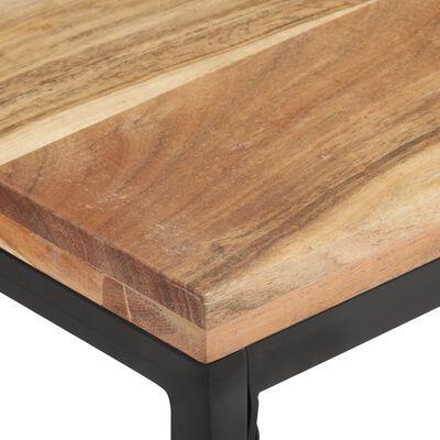 Landelijke salontafel met hout Doro