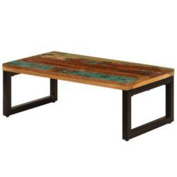 Langwerpige salontafel Kaffee van hout
