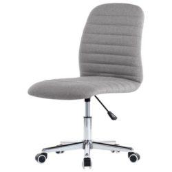 Lichtgrijze bureaustoel met wieltjes Toimisto