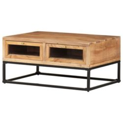Massief houten salontafel Bea
