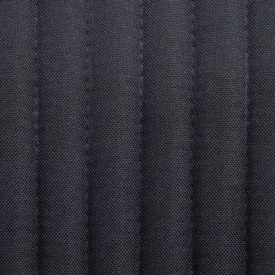 Stoffen eetkamerstoel Ruoka zwart