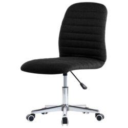 Zwarte bureaustoel met wieltjes Toimisto