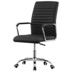 Zwarte draaibare bureaustoel Kontor